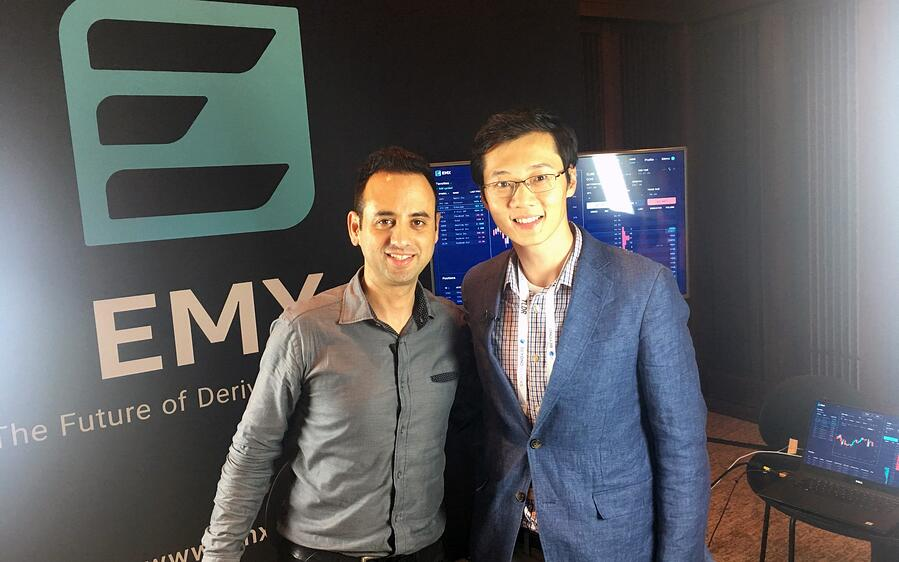 EMX's Jim Bai with Ran Neuner