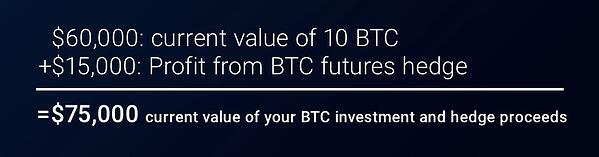 EMX Blog - Current Value of your BTC investment and hedge proceeds